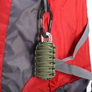 Gonex-550-Paracord-Survival-Bracelet-Grenade-Keychain-Emergency-Survival-Kit-with-Carabiner-Eye-Knife-Fire-Starter-Fishing-Tool-for-Camping-Hiking-Hunting-Travel-0-1