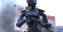 Chappie Police Robot