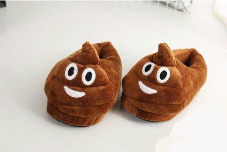 Cute-Emoji-Slippers-Poop-Slippers-Devel-Slippers-Heart-Eyes-Slippers-Winter-Plush-Indoor-Slippers-Free-Size-Poop-0