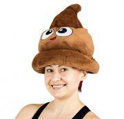 Fiesta-Toys-Emoji-Poop-Plush-Emoticon-Hat-12-Inches-0-0