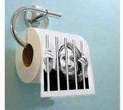Hillary-For-Prison–Highly-Collectible-Novelty-Toilet-Paper-By-American-Art-Classics-Inc-Funny-for-Democrats-or-Republicans-Give-the-Gift-of-Laughter-Funniest-Political-Gift-of-2016-0-0