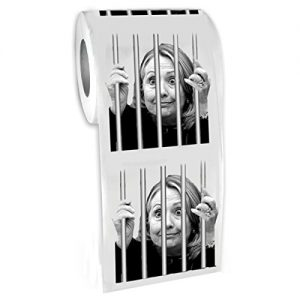 Hillary-For-Prison--Highly-Collectible-Novelty-Toilet-Paper-By-American-Art-Classics-Inc-Funny-for-Democrats-or-Republicans-Give-the-Gift-of-Laughter-Funniest-Political-Gift-of-2016-0